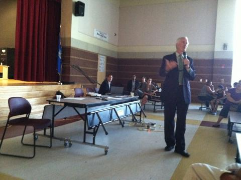 Mayor Finch Addresses Parks Master Plan Forum on August 10, 2011