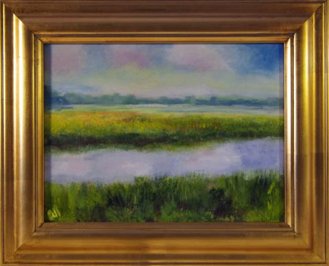 Ash Creek painting by artist Gail Bell